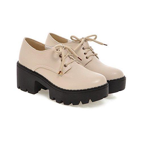 Mujer Para 1to9 Beige Vestir De Zapatos Oqg6xvIB