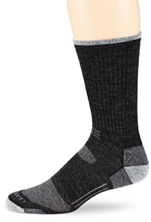 Carhartt Men's All Terrain Crew Socks,  Charcoal, Shoe: 6-12