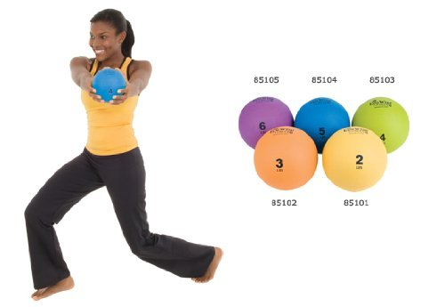 Ecowise Weight Ball (4 Lbs. – Kiwi) by Eco Wise Fitness