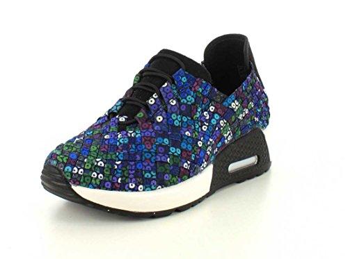 Bernie Mev Beste Victoria Sneaker Saffier Voor Dames