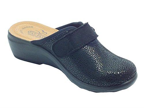 Pantofole per Donna FlyFlot con Sottopiede in Pelle Anti-Shock (Taglia 39)