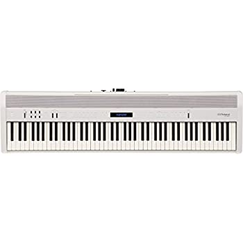 yamaha p121 73 key digital piano home bundle with furniture stand and bench white. Black Bedroom Furniture Sets. Home Design Ideas