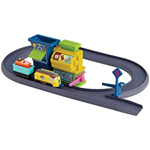 Chuggington Die-Cast Badge Quest Ice Cream Training Playset with Frostini