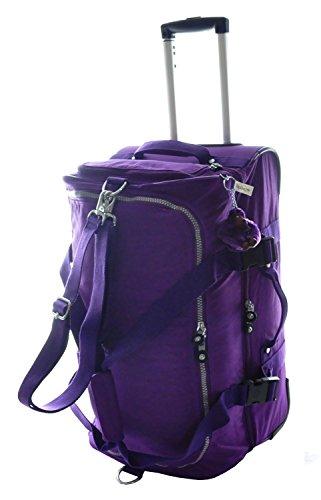 Kipling Teagan Trolley Travel Bag, Tile Purple by Kipling