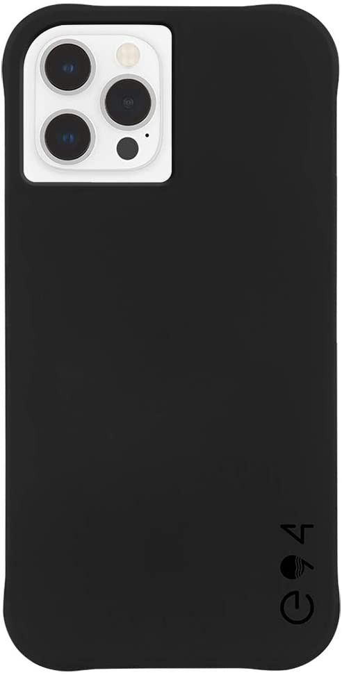 ECO94 by Case-Mate - Plant Based - Case for iPhone 12 and iPhone 12 Pro (5G) - Eco-Friendly - 10 ft Drop Protection - 6.1 Inch - Eco Black, CM043696
