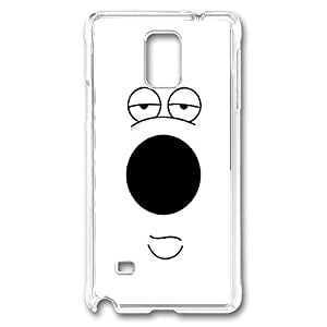 Brian Face Polycarbonate Hard Case Cover for samsung note 4 Transparent by Maris's Diaryby Maris's Diary