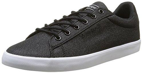 Le Coq Sportif Unisex-Erwachsene Agate Lo Glitter Allover Sneakers Schwarz (BlackBlack)