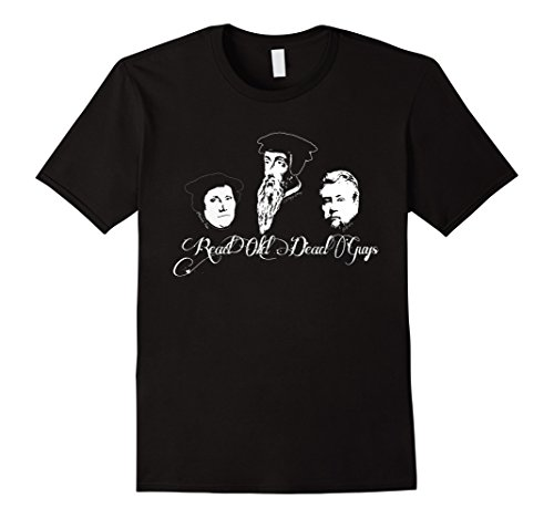Read Old Dead Guys Theology bookworm Christian t-shirt (Apparel)