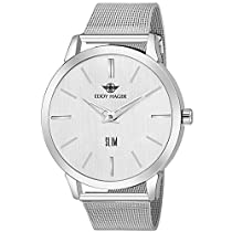 Eddy Hager Slim Silver Dial Men's Watch EH-224-SL