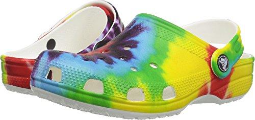 2 best crocs kids tie dye