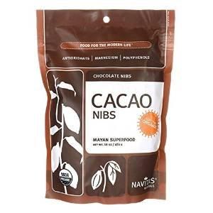 Navitas Naturals Organic Raw Cacao Nibs, 16 oz (Pack of 6) by Navitas Naturals