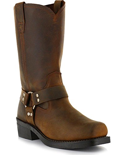 Square Toe Harness Boots - 2