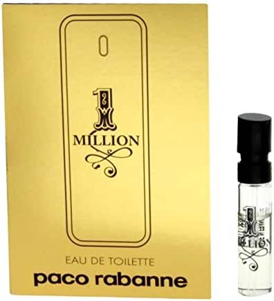 1 Million Cologne by Paco Rabanne Spray Vial (sample) .05 oz EDT (Men)
