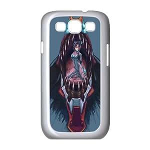 Mari Makinami Illustrious Neon Genesis Evangelion funda Samsung Galaxy S3 9300 Cubierta blanca del teléfono celular de la cubierta del caso funda EOKXLKNBC29593