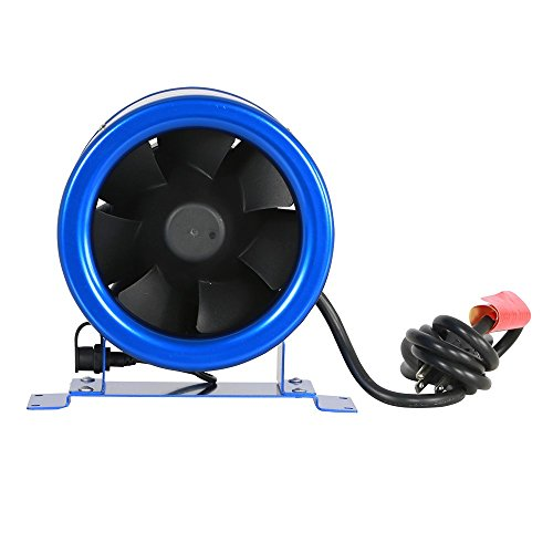 Hyper Fan Digital Mixed Flow Fan - 6 Inch | 315 CFM | Energy Efficient Technology, Quiet Operation, Lightweight, Includes the Hyper Fan Speed Controller - ETL Listed (Efficiency Ratings Gas Fire)