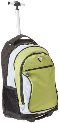 CALPAK City View Olive 18-inch Rolling Backpack