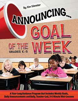 Announcing... Goal of the Week by Edmister Kim (2014-03-01) Paperback