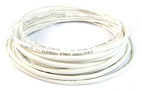 Best Connections 100 FEE SPEAKER CABLE 16AWG 16/2 CL3R IN WALL 16 GAUGE AUDIO WIRE 2 CONDUCTORS UL