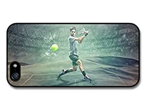 Roger Federer Green Stadium Tennis Player case for iPhone 5 5S A696