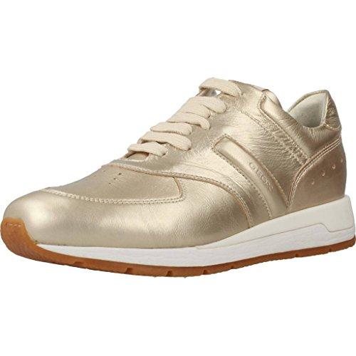 GEOX Calzado deportivo para mujer, color gold, marca, modelo Calzado Deportivo Para Mujer D SHAHIRA Gold