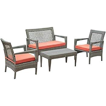 Amazon Com Auro Brisbane Outdoor Furniture 4 Piece