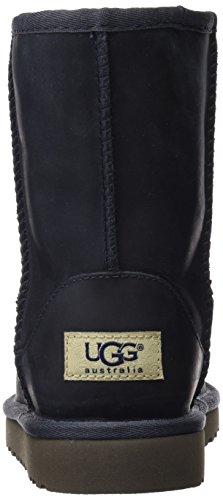 Peacoat Short Kids Boot UGG Leather Classic XqB4UpfwZ