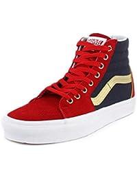 Unisex Marvel Captain America Sk8-Hi Sneaker