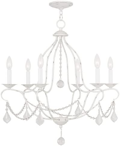 Livex Lighting 6426-60 Chesterfield 6 Light Chandelier