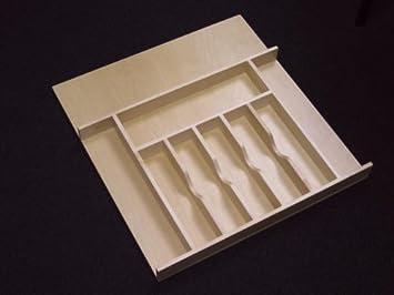 Amazon.com: Rev-a-shelf inserto de bandeja para cubiertos de ...