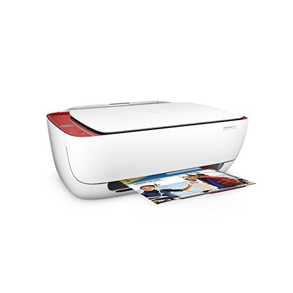 HP DeskJet 3637 - Impresora multifunción (Inyección de Tinta térmica A4, WiFi, Color, Negro, Cian, Magenta, Amarillo) Color Blanco 5