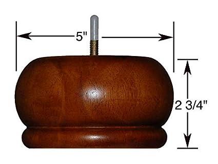 amazon com abacus swivel chair parts 2 3 4 medium brown walnut