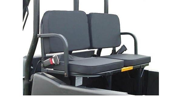 Seat- Rear Black UTV Bed Seat by Great Day Midsize Rear Polaris Ranger 500//570 2017 UTV Rumble
