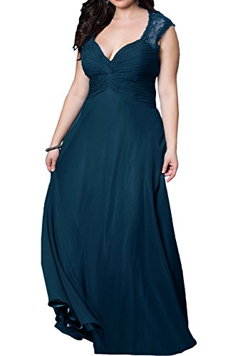 Schnitt Lila Chiffon Schmaler Partykleider Abendkleider La Braut mia Weinrot Uebergroesse Rock Brautmutterkleider HqxBzw