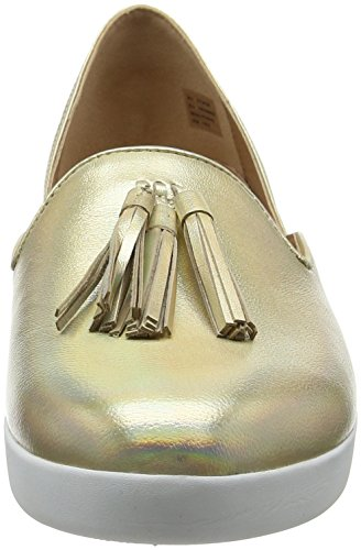 Oro Tassel Mocassini Fitflop gold Iridescent Superskate Loafers 536 D'orsay Donna Pww7qYa