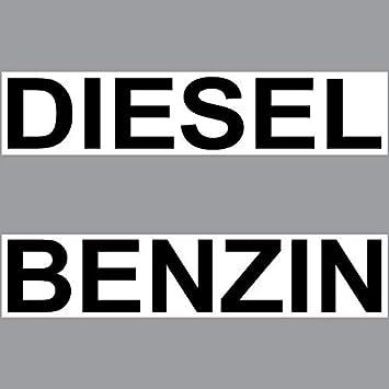 Greenit 2 Aufkleber Set Sticker 20cm Diesel Benzin
