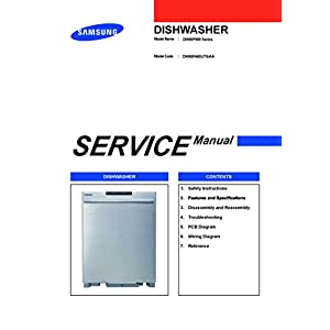 Dishwasher Service Manuals
