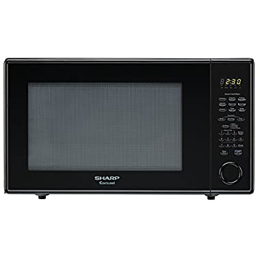 Sharp Countertop Microwave Oven ZR659YK 2.2 cu. ft. 1200W Black with Sensor Cooking