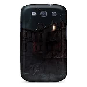 GuyMWam Galaxy S3 Hybrid Tpu Case Cover Silicon Bumper Old Town