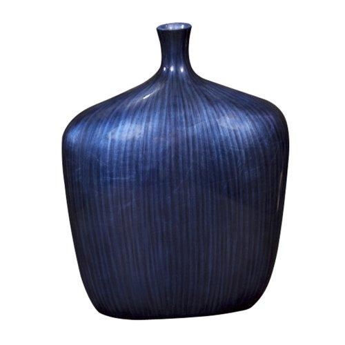 Howard Elliott 22076L Sleek Vase, Large, Cobalt
