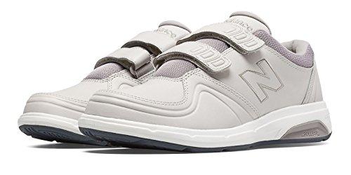 飢えた年告白(ニューバランス) New Balance 靴?シューズ レディースウォーキング Hook and Loop 813 Off White オフ ホワイト 12.5 (29.5cm)