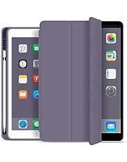 Capa Novo Ipad 7A e 8A Geração 10.2″ Wb Premium Slim Antichoque com Compart. Para Pencil Roxa