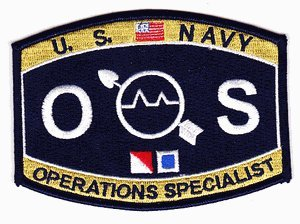 Amazon.com: US Navy Operations Specialist OS Patch: Automotive