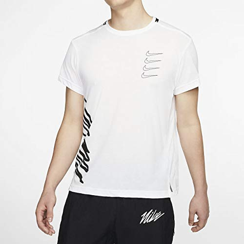 Nike Shorts Sleeve Training Top Mens T-Shirts Cj4619-100 3