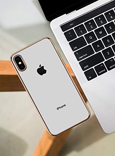 DTTO Clear Soft TPU iPhone XS Cover Case