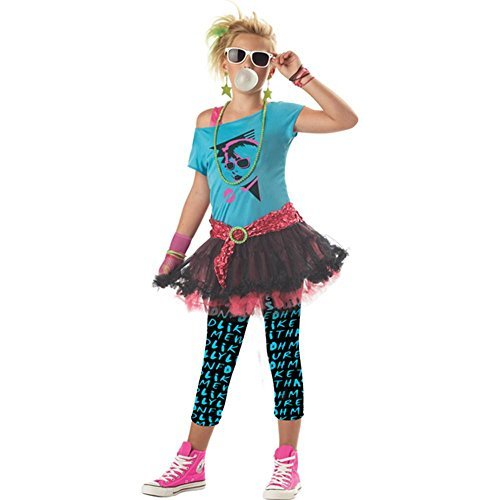 80's Valley Girl Tween Costume - ()