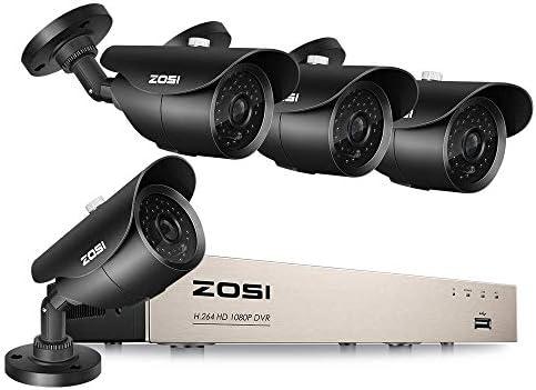 ZOSI 1080P Home Surveillance Camera System