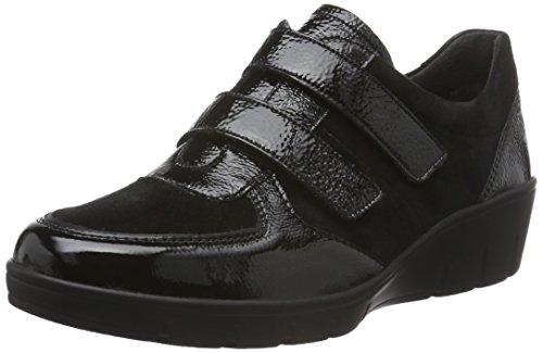 001 Semler schwarz Black Loafers Judith Women''s S1qwpzf