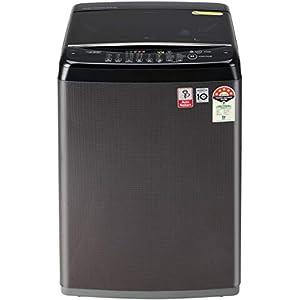 LG 6.5 Kg 5 Star Smart Inverter Fully-Automatic Top Loading Washing Machine (T65SJBK1Z, Black Knight Pattern, Jet Spray…