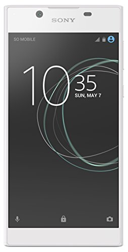 Sony Xperia L1 - Unlocked Smartphone - 16GB - White (US Warranty)