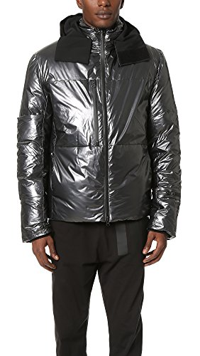 the best attitude 9bd66 6805e Adidas Y-3 Mens Y-3 Nylon Down Jacket, Night Metallic, Small